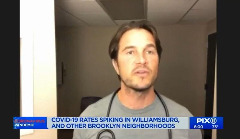 WPIX NY: 6 BROOKLYN COMMUNITIES SEE COVID-19 SURGE – WEARING MASKS WILL HELP (09-25-2020)