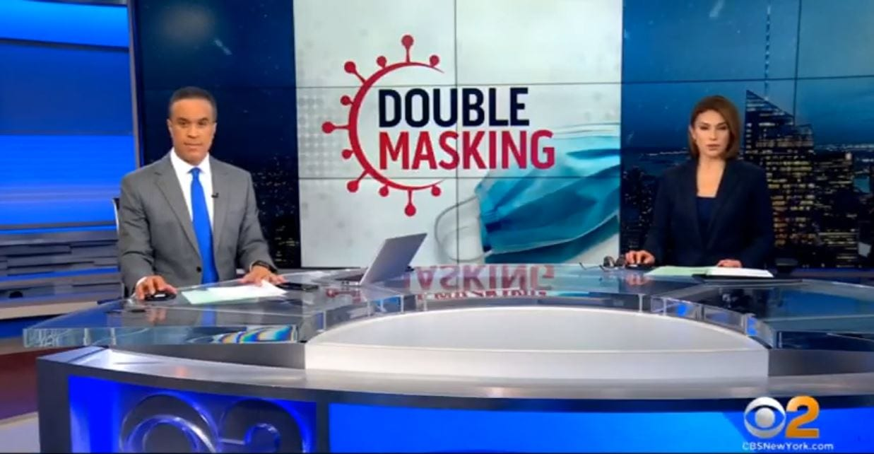 CBS2: DOUBLE MASKING (2-19-2021)